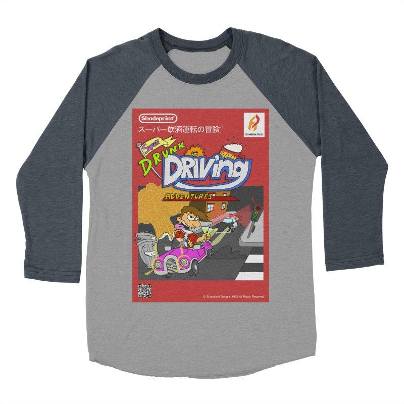 Super Drunk Driving Adventures (Cover Art [JAP]) Men's Baseball Triblend T-Shirt by Shadeprint's Artist Shop