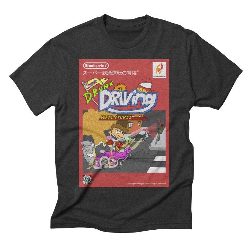 Super Drunk Driving Adventures (Cover Art [JAP]) Men's Triblend T-shirt by Shadeprint's Artist Shop