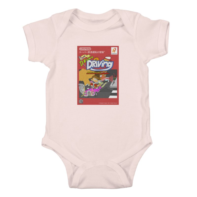 Super Drunk Driving Adventures (Cover Art [JAP]) Kids Baby Bodysuit by Shadeprint's Artist Shop