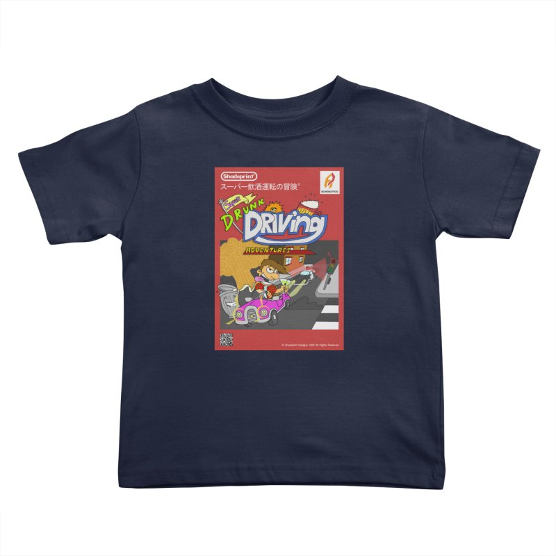 Super Drunk Driving Adventures (Cover Art [JAP]) Kids Toddler T-Shirt by Shadeprint's Artist Shop
