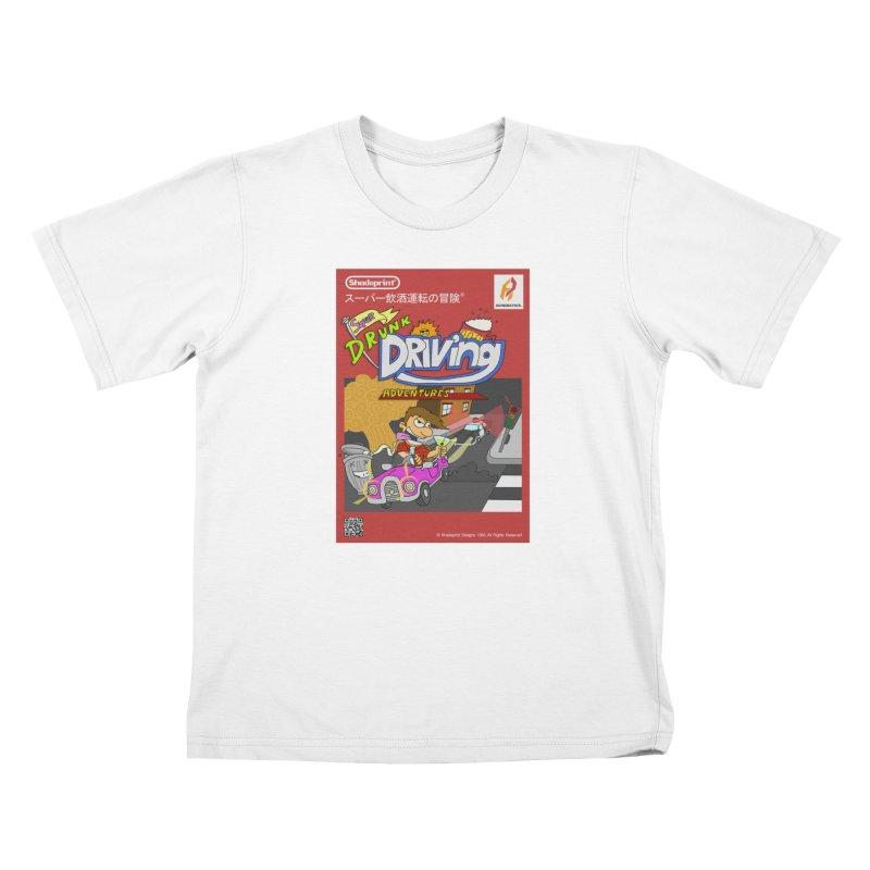 Super Drunk Driving Adventures (Cover Art [JAP]) Kids T-Shirt by Shadeprint's Artist Shop