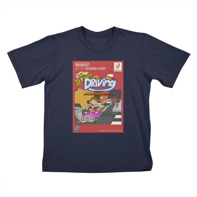 Super Drunk Driving Adventures (Cover Art [JAP]) Kids T-Shirt by SHADEPRINT.DESIGN