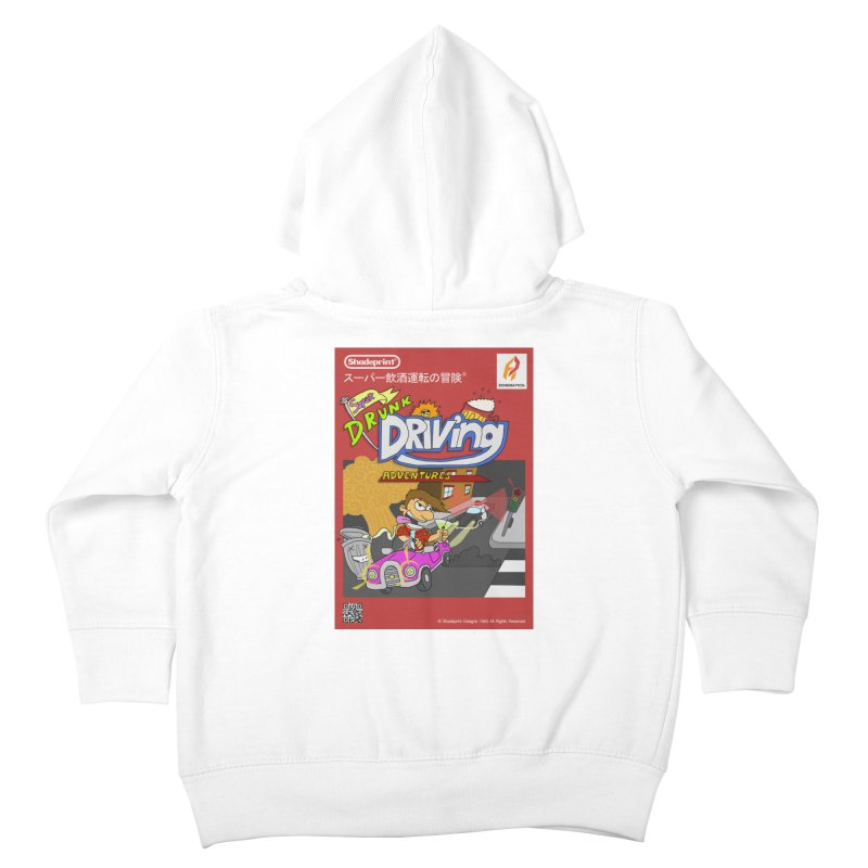 Super Drunk Driving Adventures (Cover Art [JAP]) Kids Toddler Zip-Up Hoody by Shadeprint's Artist Shop