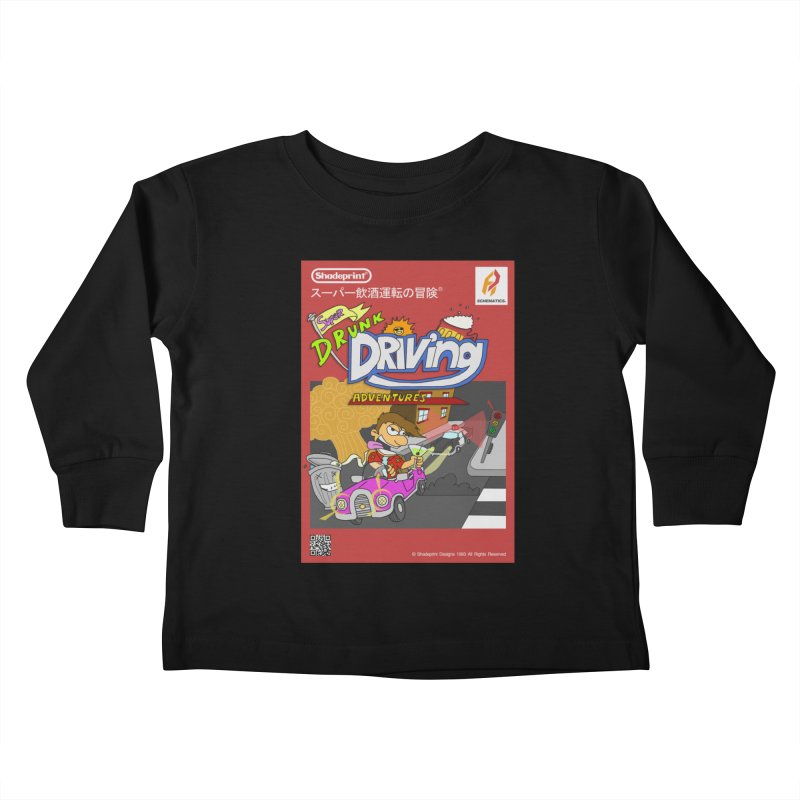 Super Drunk Driving Adventures (Cover Art [JAP]) Kids Toddler Longsleeve T-Shirt by Shadeprint's Artist Shop