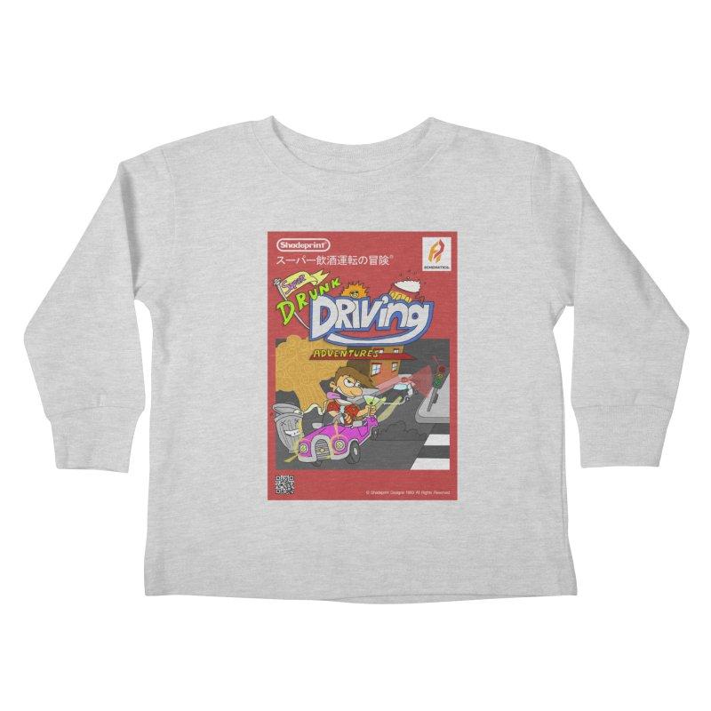 Super Drunk Driving Adventures (Cover Art [JAP]) Kids Toddler Longsleeve T-Shirt by Shadeprint's Artist Shop