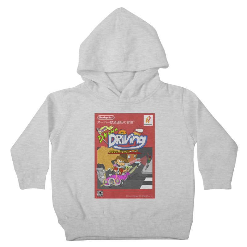 Super Drunk Driving Adventures (Cover Art [JAP]) Kids Toddler Pullover Hoody by Shadeprint's Artist Shop