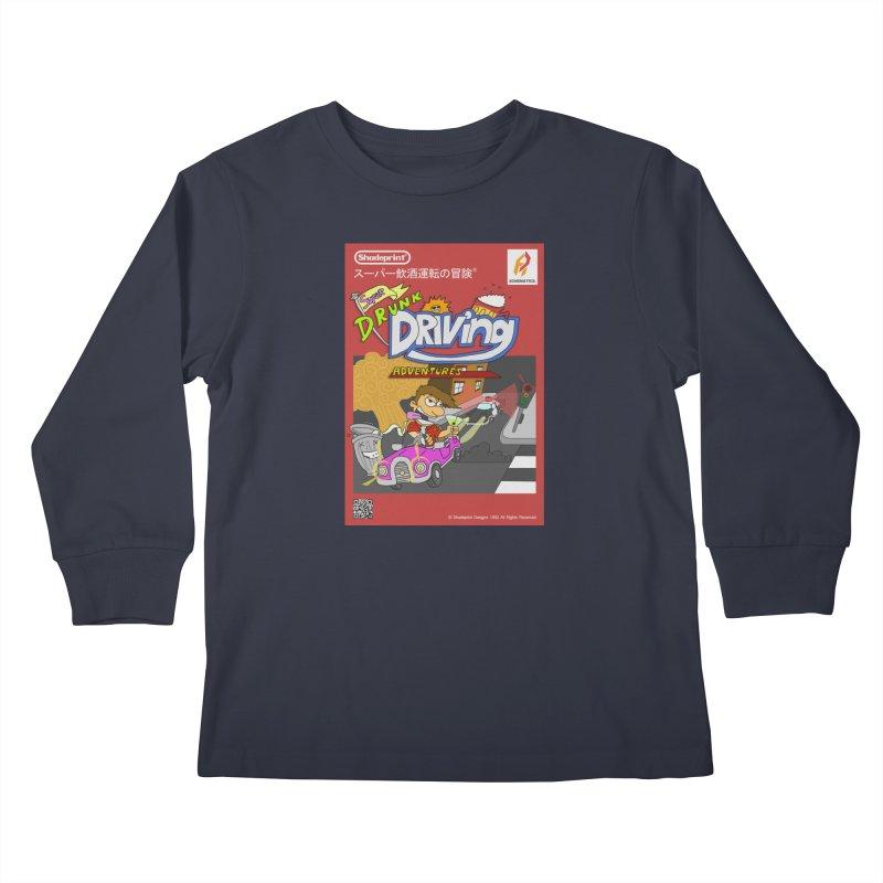 Super Drunk Driving Adventures (Cover Art [JAP]) Kids Longsleeve T-Shirt by Shadeprint's Artist Shop