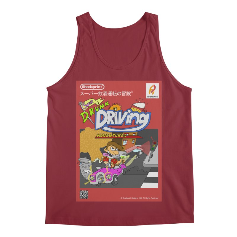 Super Drunk Driving Adventures (Cover Art [JAP]) Men's Regular Tank by Shadeprint's Artist Shop