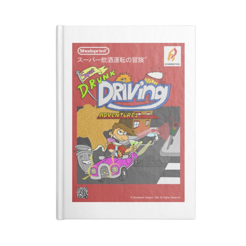 Super Drunk Driving Adventures (Cover Art [JAP]) Accessories Notebook by Shadeprint's Artist Shop