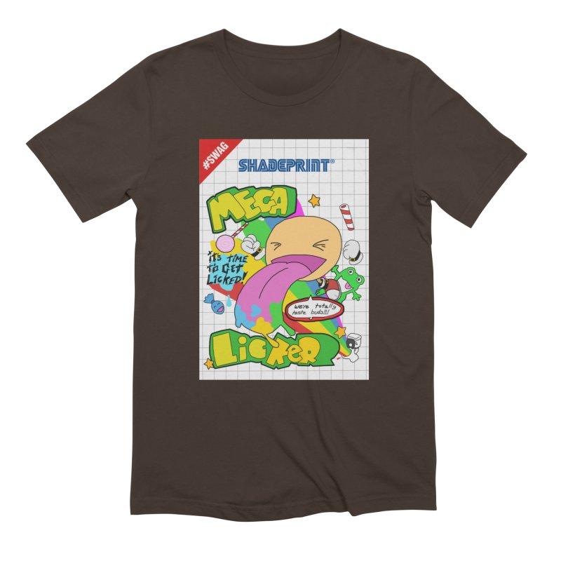 Mega Licker! [Cartridge Sleeve Art Work]. Men's T-Shirt by Shadeprint's Artist Shop