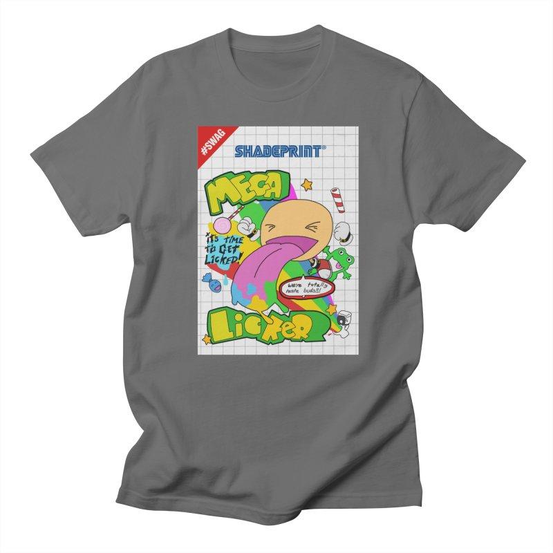 Mega Licker! [Cartridge Sleeve Art Work]. Women's T-Shirt by Shadeprint's Artist Shop