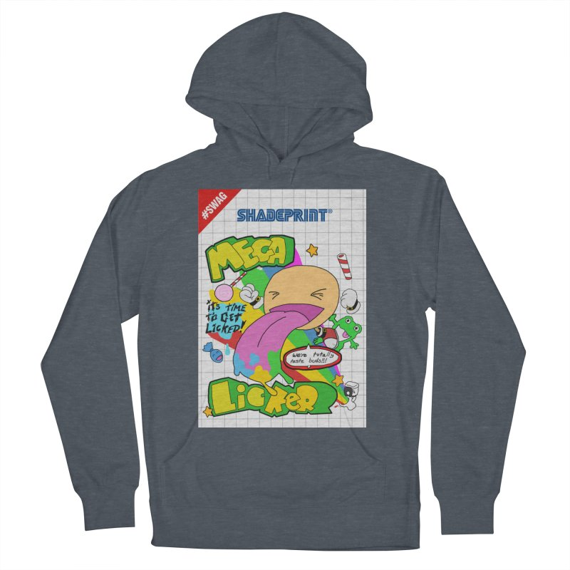 Mega Licker! [Cartridge Sleeve Art Work]. Women's Pullover Hoody by Shadeprint's Artist Shop