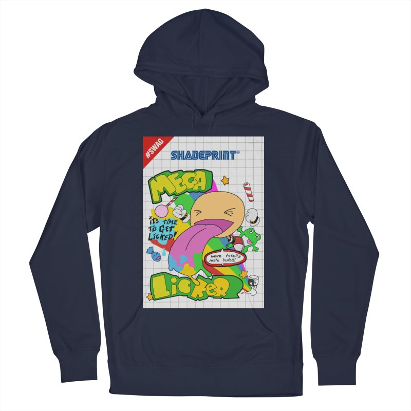 Mega Licker! [Cartridge Sleeve Art Work]. Men's Pullover Hoody by Shadeprint's Artist Shop