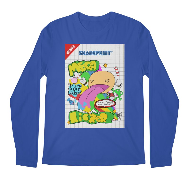 Mega Licker! [Cartridge Sleeve Art Work]. Men's Longsleeve T-Shirt by Shadeprint's Artist Shop