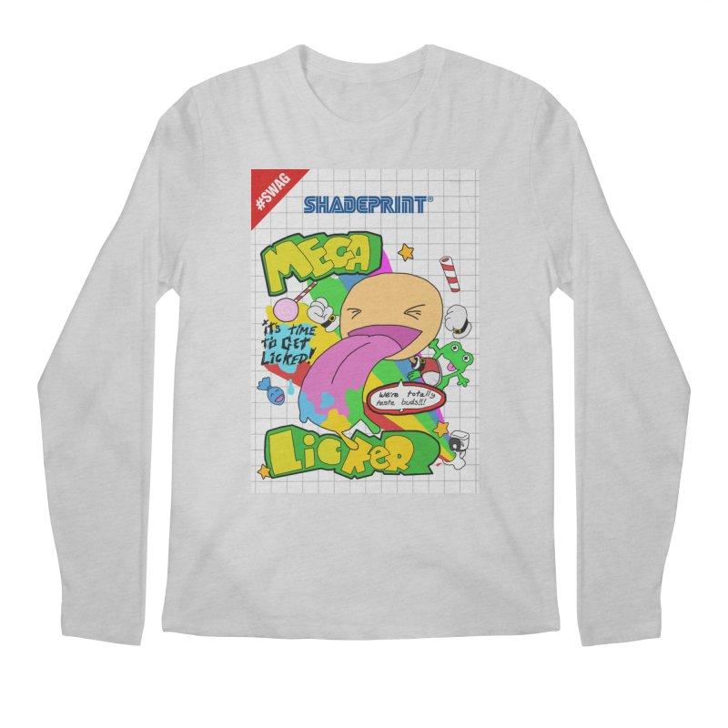 Mega Licker! [Cartridge Sleeve Art Work]. Men's Longsleeve T-Shirt by Shadeprint's Artist Shop