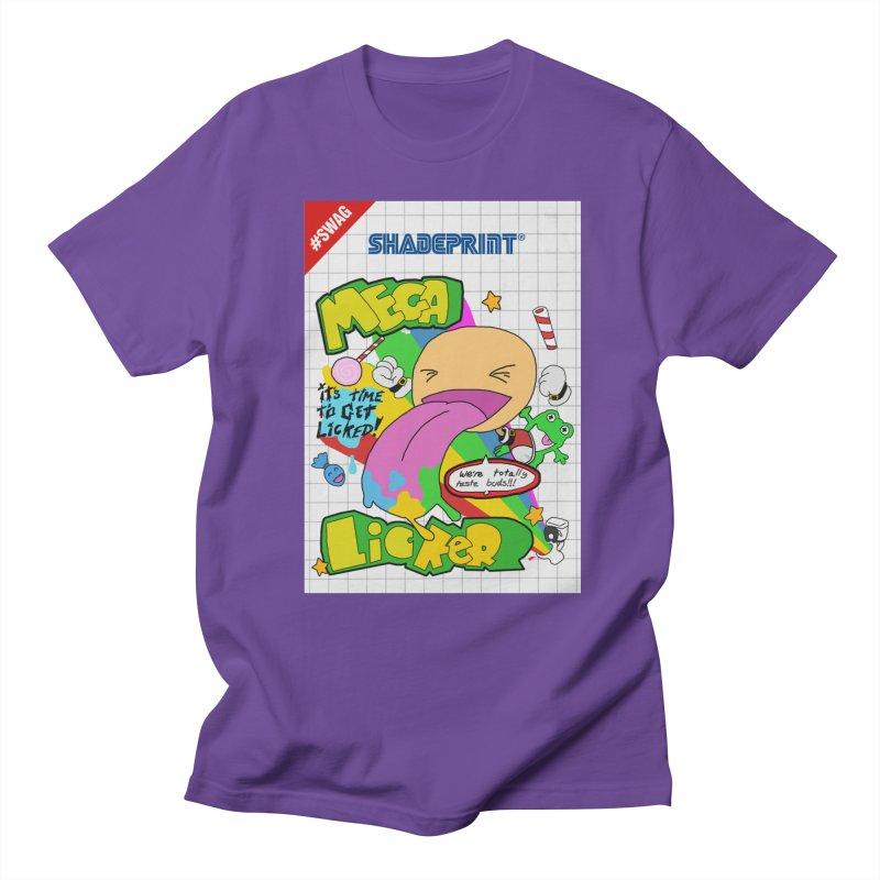 Mega Licker! [Cartridge Sleeve Art Work]. Men's T-Shirt by SHADEPRINT.DESIGN