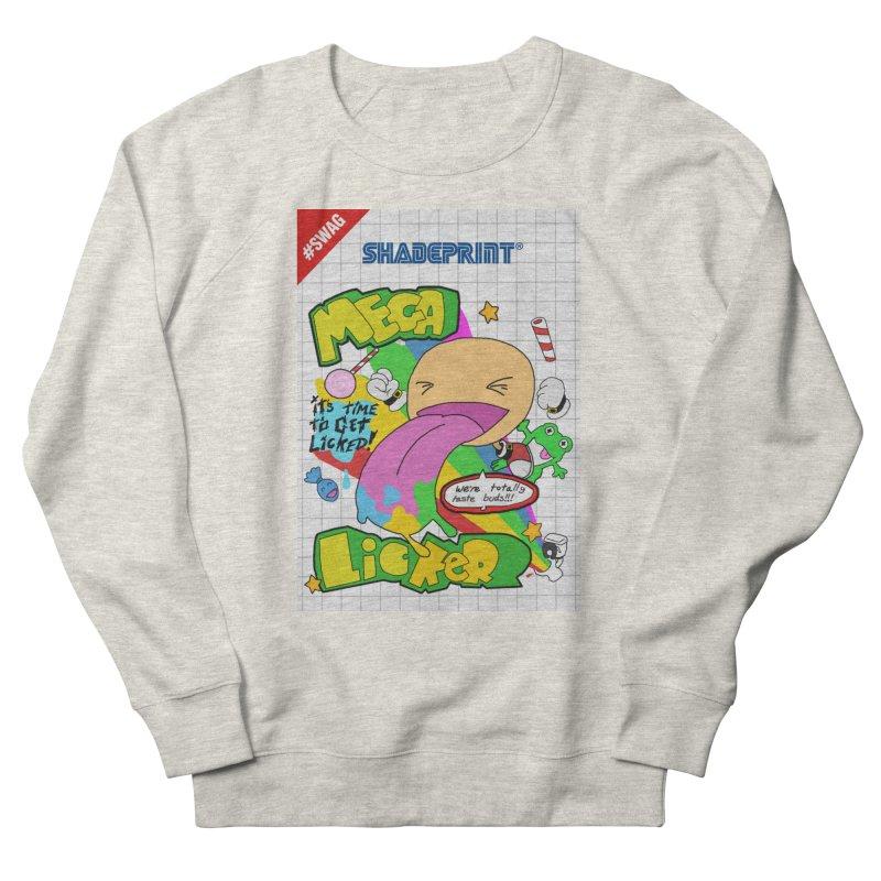 Mega Licker! [Cartridge Sleeve Art Work]. Women's Sweatshirt by Shadeprint's Artist Shop