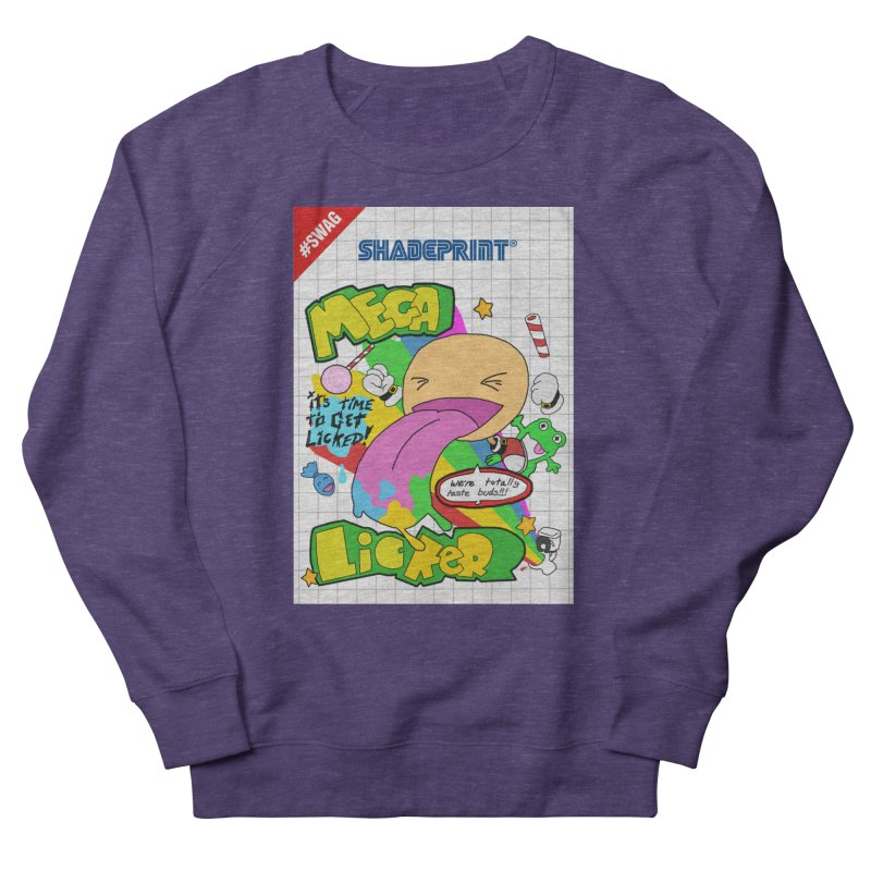 Mega Licker! [Cartridge Sleeve Art Work]. Men's Sweatshirt by Shadeprint's Artist Shop