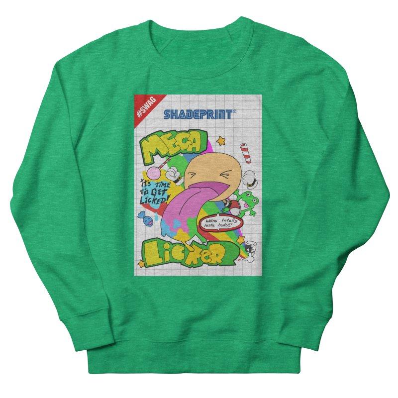 Mega Licker! [Cartridge Sleeve Art Work]. Men's Sweatshirt by Shadeprint's Artist Shop
