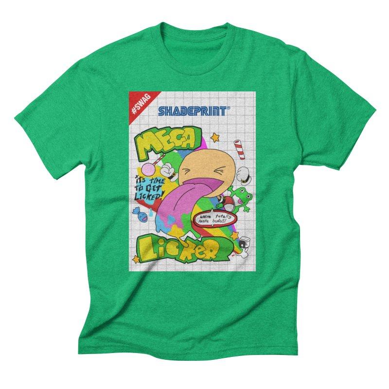 Mega Licker! [Cartridge Sleeve Art Work]. Men's Triblend T-Shirt by Shadeprint's Artist Shop