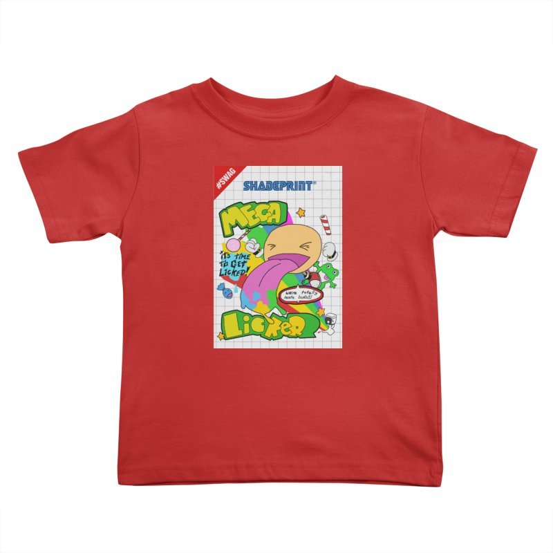 Mega Licker! [Cartridge Sleeve Art Work]. Kids Toddler T-Shirt by Shadeprint's Artist Shop