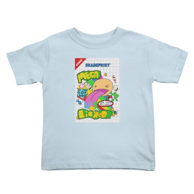 Mega Licker! [Cartridge Sleeve Art Work]. Kids Toddler T-Shirt by Shadeprint's Artist Shop