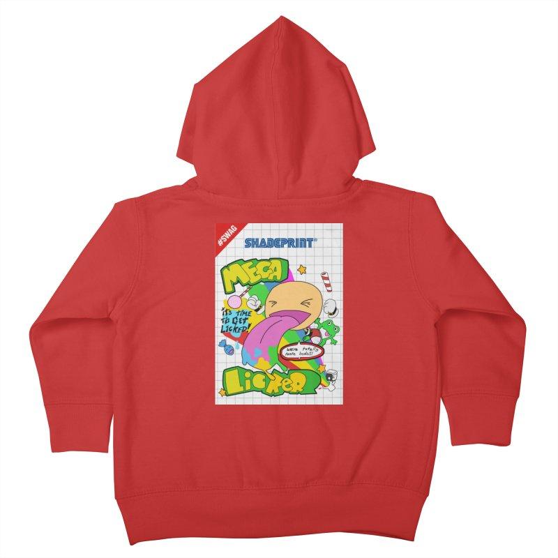 Mega Licker! [Cartridge Sleeve Art Work]. Kids Toddler Zip-Up Hoody by Shadeprint's Artist Shop