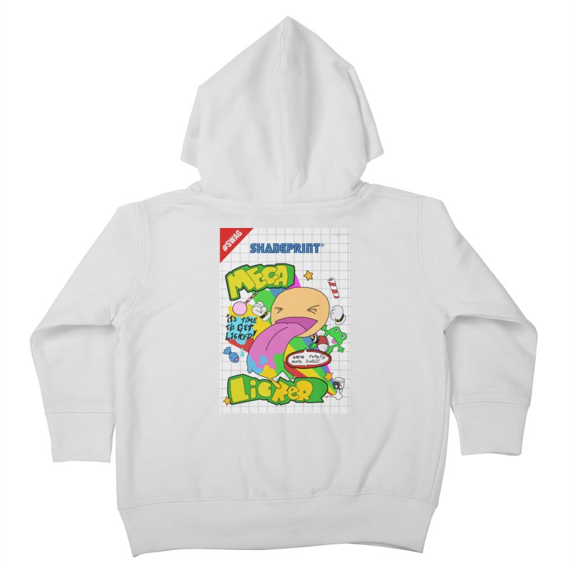 Mega Licker! [Cartridge Sleeve Art Work]. Kids Toddler Zip-Up Hoody by Shadeprint's Artist Shop
