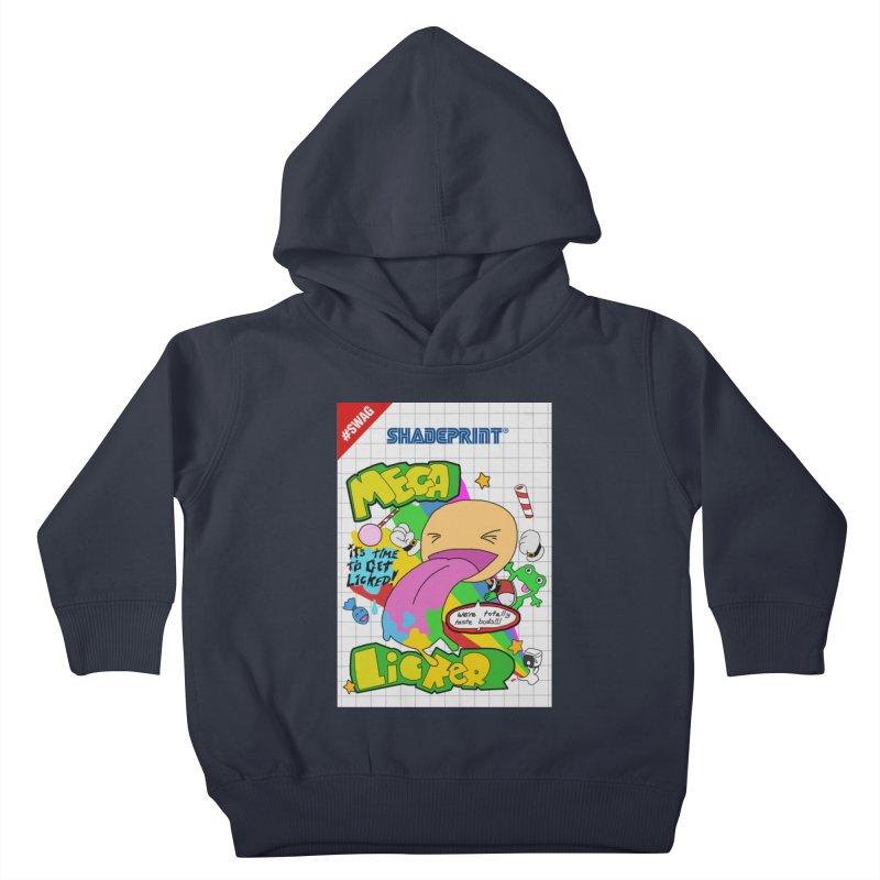 Mega Licker! [Cartridge Sleeve Art Work]. Kids Toddler Pullover Hoody by Shadeprint's Artist Shop
