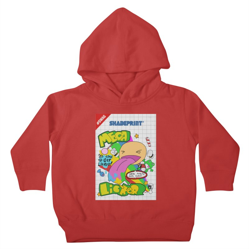 Mega Licker! [Cartridge Sleeve Art Work]. Kids Toddler Pullover Hoody by Shadeprint's Artist Shop