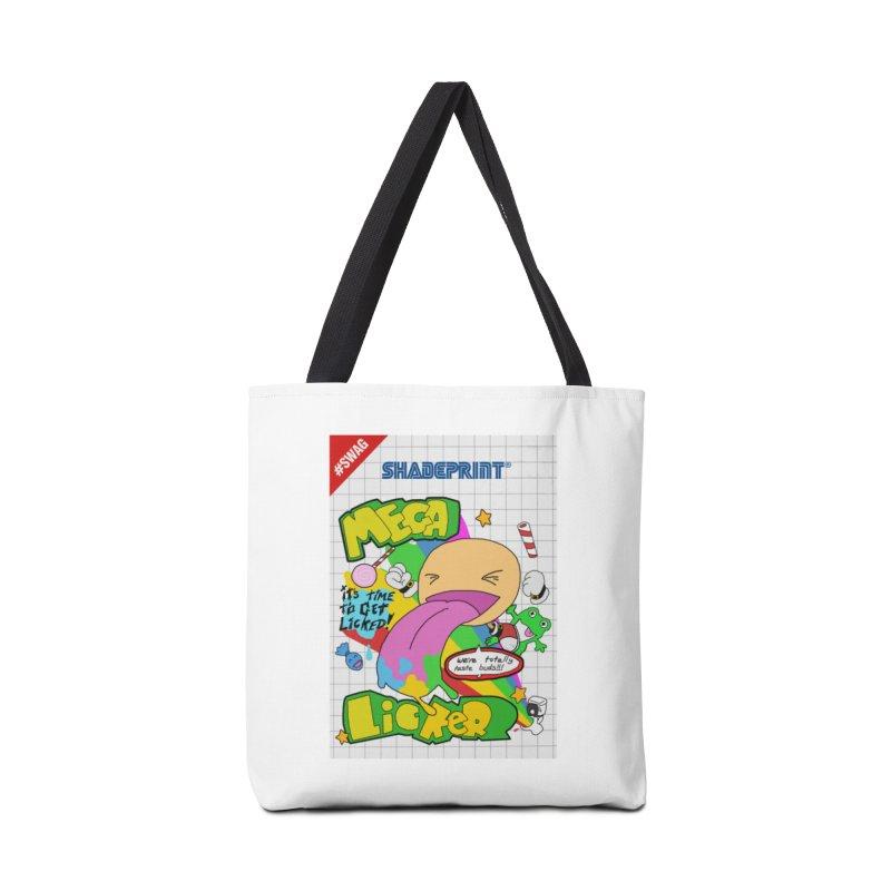 Mega Licker! [Cartridge Sleeve Art Work]. Accessories Tote Bag Bag by Shadeprint's Artist Shop
