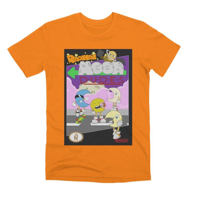 Radical Moon Dudes (Official Box Art) Men's T-Shirt by Shadeprint's Artist Shop