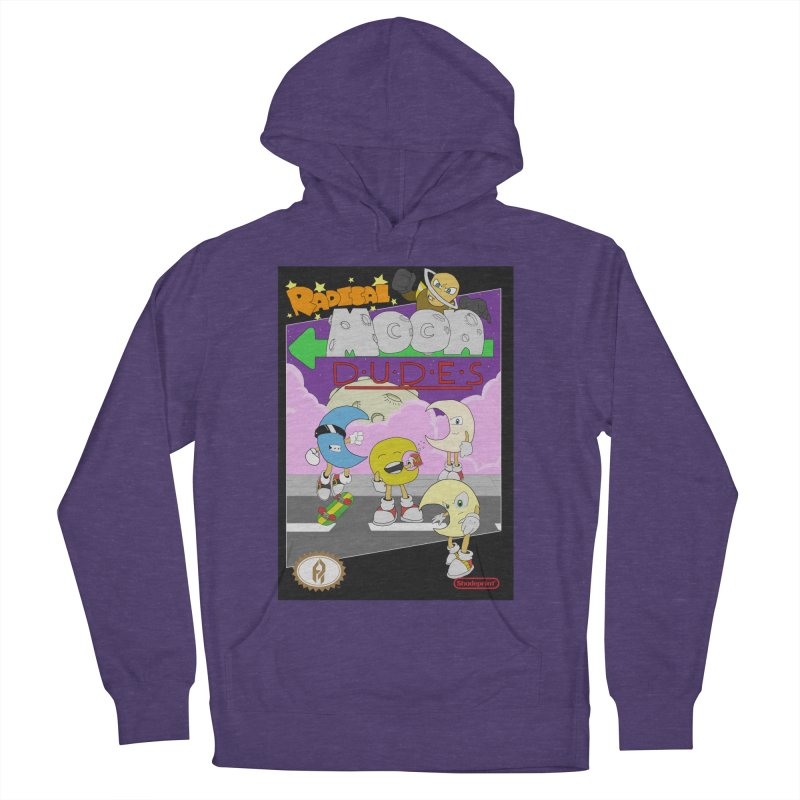 Radical Moon Dudes (Official Box Art) Women's Pullover Hoody by Shadeprint's Artist Shop