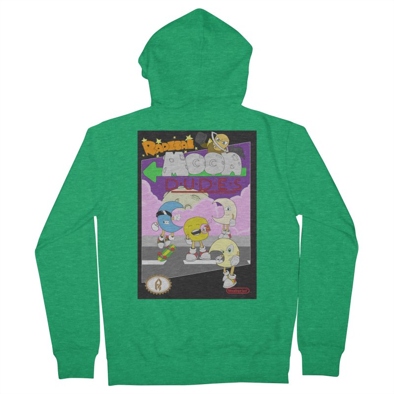 Radical Moon Dudes (Official Box Art) Men's Zip-Up Hoody by Shadeprint's Artist Shop