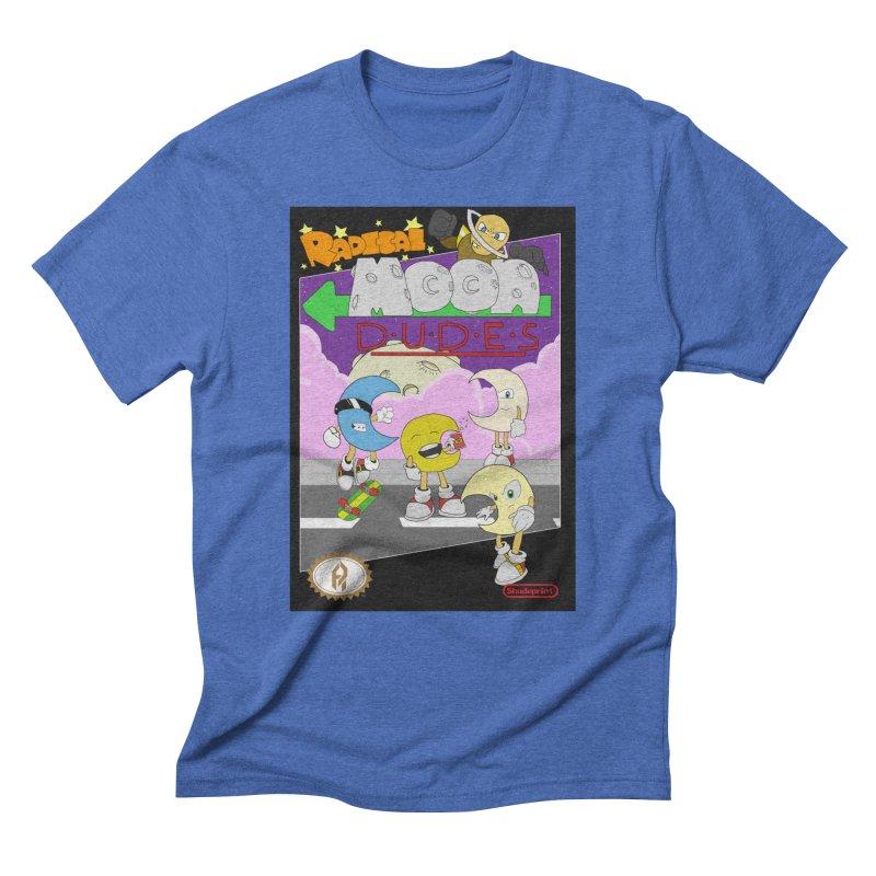 Radical Moon Dudes (Official Box Art) Men's Triblend T-Shirt by Shadeprint's Artist Shop