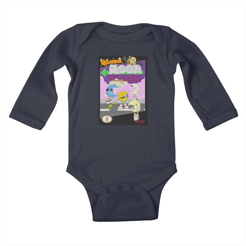 Radical Moon Dudes (Official Box Art) Kids Baby Longsleeve Bodysuit by Shadeprint's Artist Shop