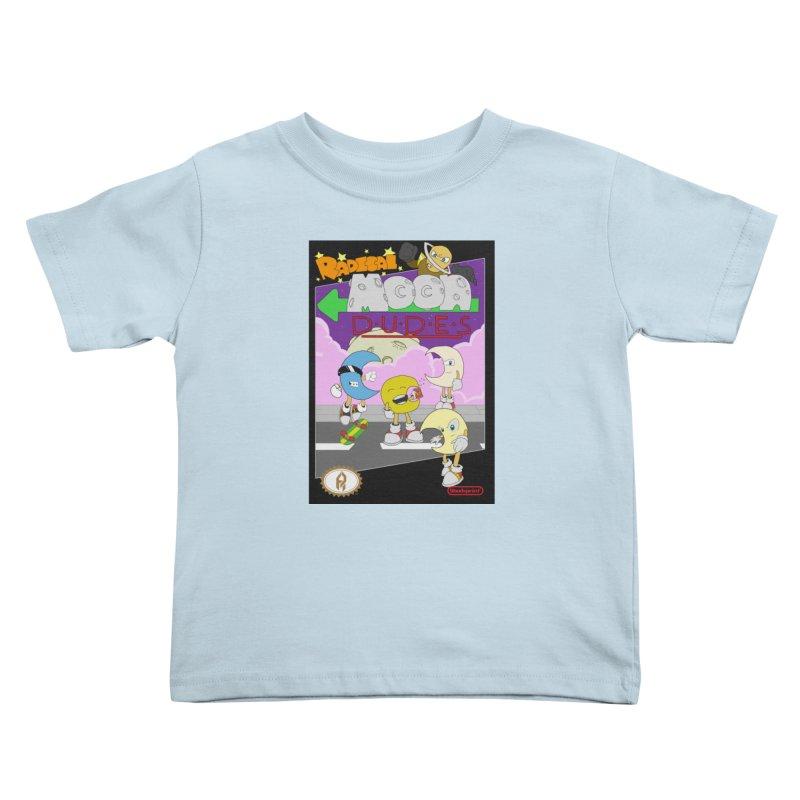 Radical Moon Dudes (Official Box Art) Kids Toddler T-Shirt by Shadeprint's Artist Shop