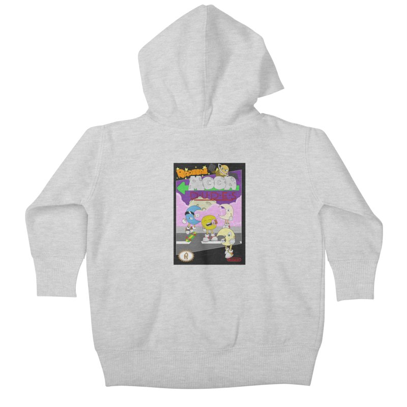 Radical Moon Dudes (Official Box Art) Kids Baby Zip-Up Hoody by Shadeprint's Artist Shop