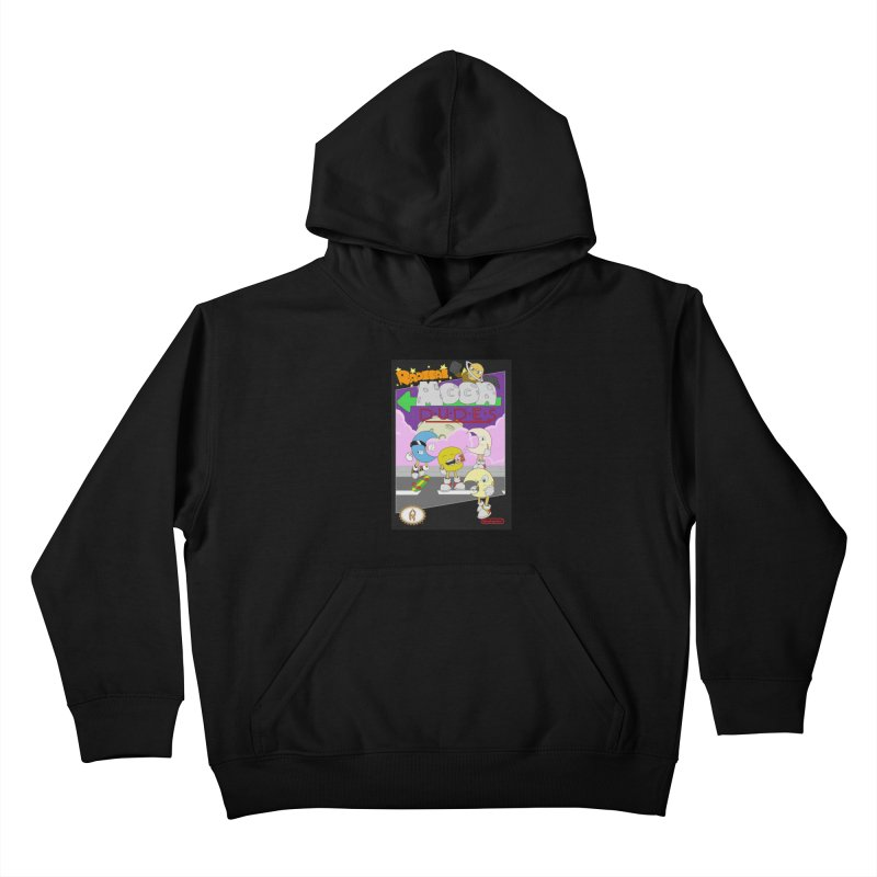Radical Moon Dudes (Official Box Art) Kids Pullover Hoody by Shadeprint's Artist Shop