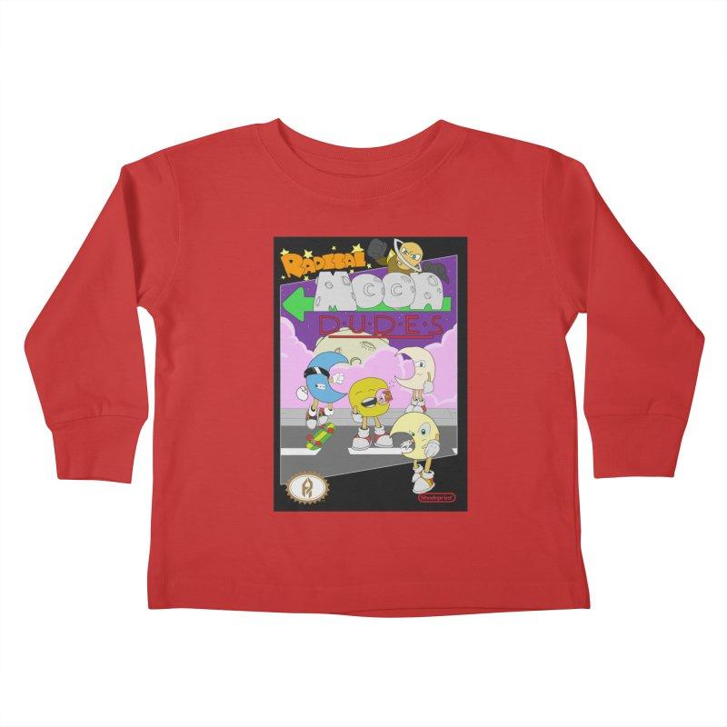 Radical Moon Dudes (Official Box Art) Kids Toddler Longsleeve T-Shirt by Shadeprint's Artist Shop