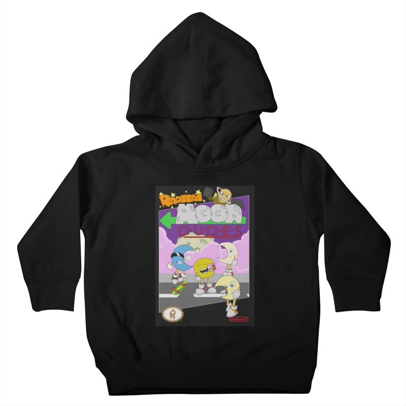 Radical Moon Dudes (Official Box Art) Kids Toddler Pullover Hoody by Shadeprint's Artist Shop