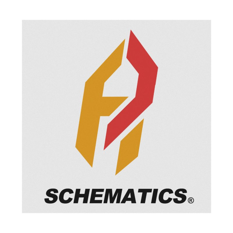 Schematicai Logo. Men's T-Shirt by Shadeprint's Artist Shop