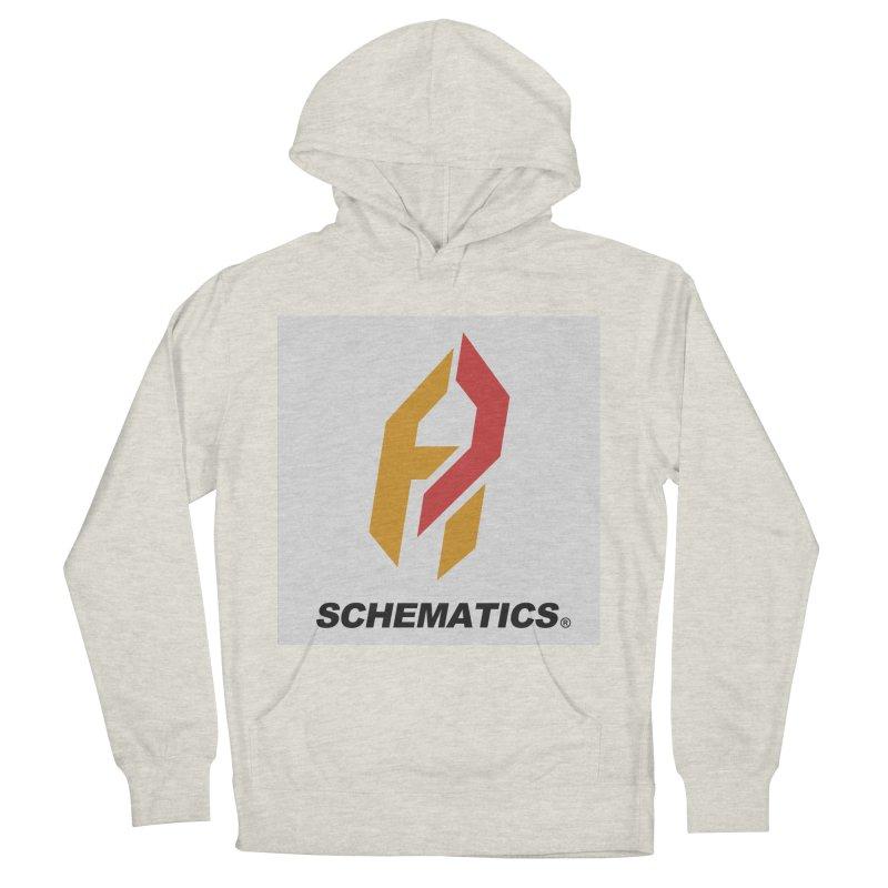 Schematicai Logo. Men's Pullover Hoody by Shadeprint's Artist Shop