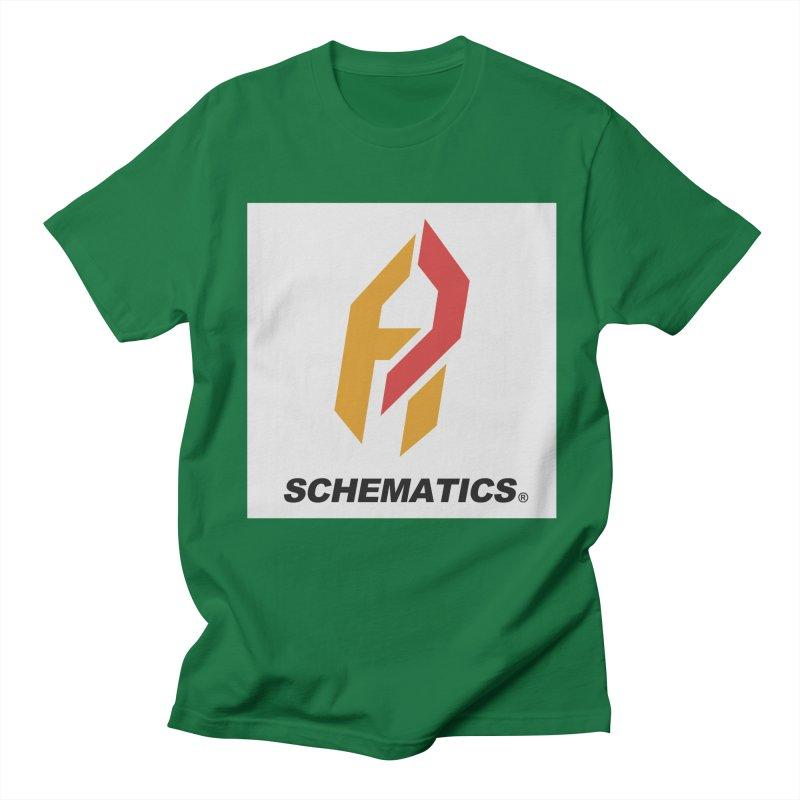 Schematicai Logo. Men's T-shirt by Shadeprint's Artist Shop