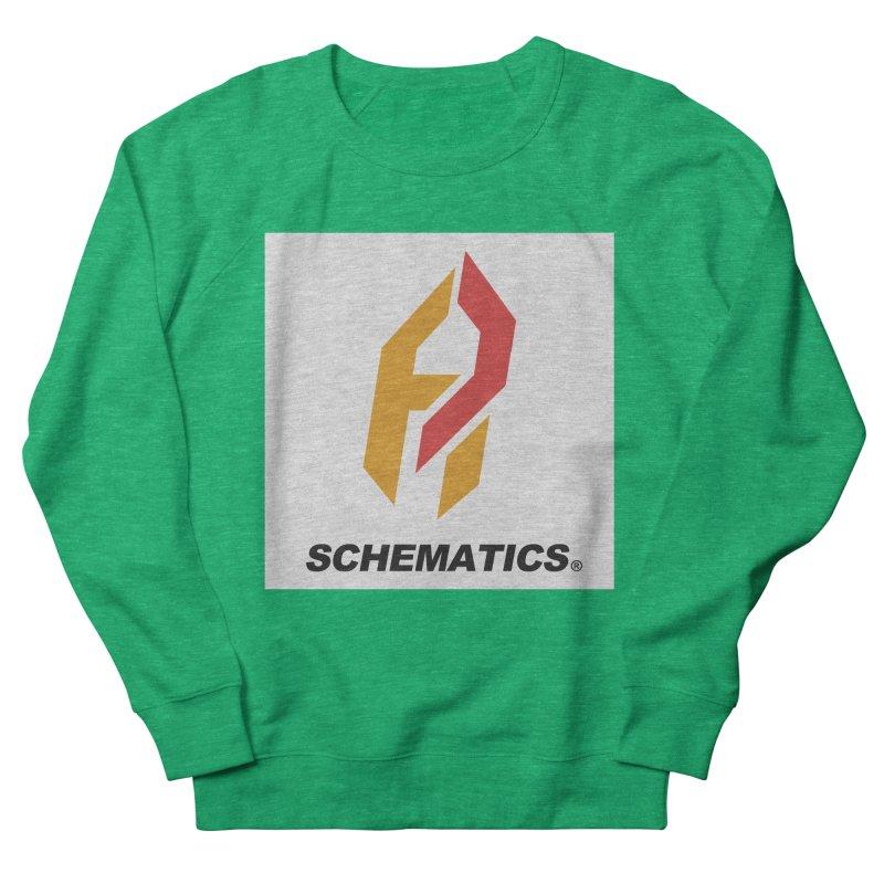 Schematicai Logo. Men's French Terry Sweatshirt by Shadeprint's Artist Shop