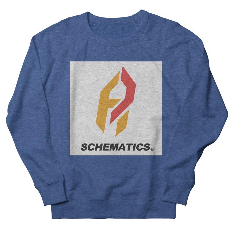 Schematicai Logo. Men's Sweatshirt by Shadeprint's Artist Shop