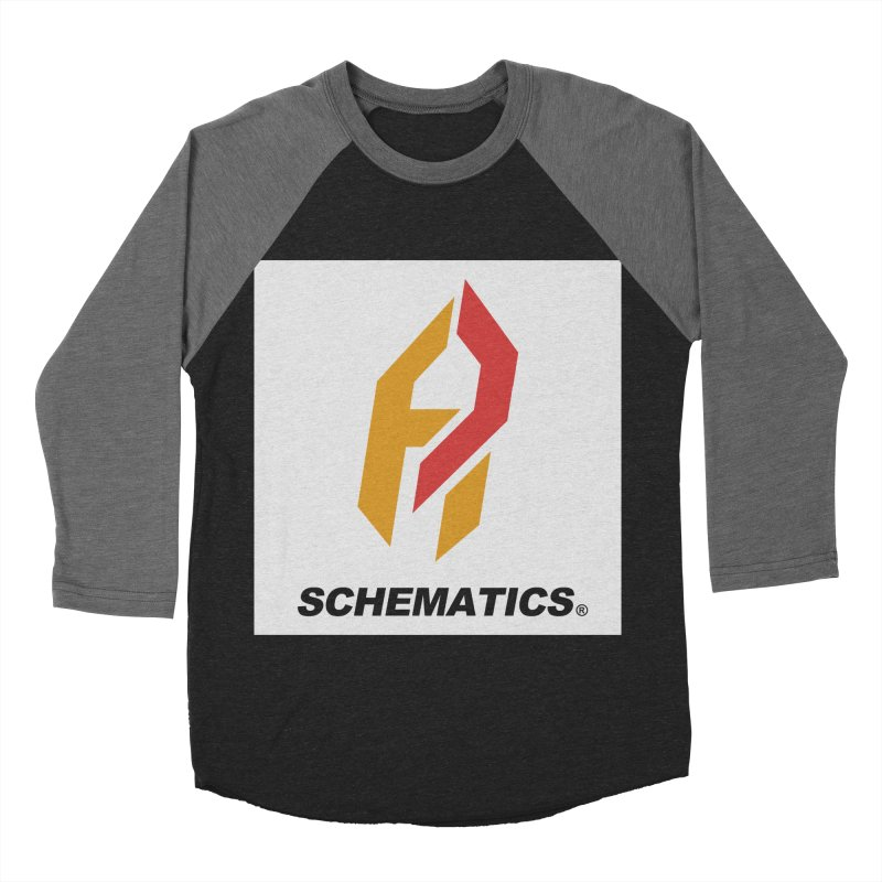 Schematicai Logo. Men's Baseball Triblend T-Shirt by Shadeprint's Artist Shop