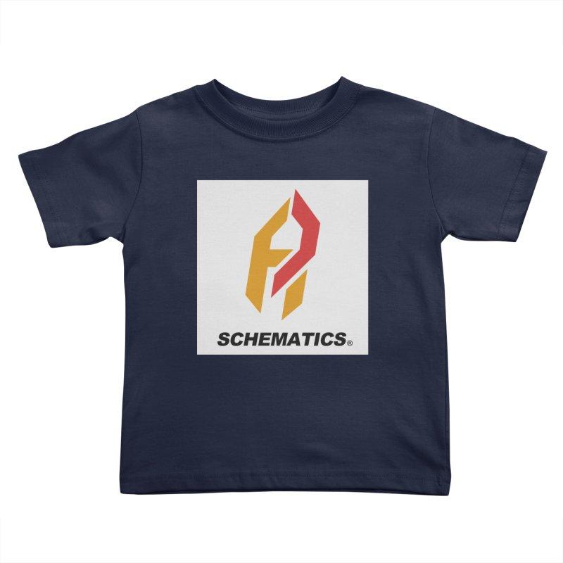 Schematicai Logo. Kids Toddler T-Shirt by Shadeprint's Artist Shop