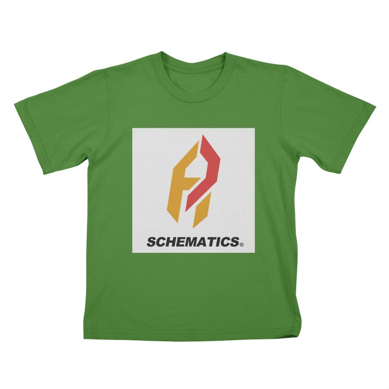 Schematicai Logo. Kids T-Shirt by Shadeprint's Artist Shop