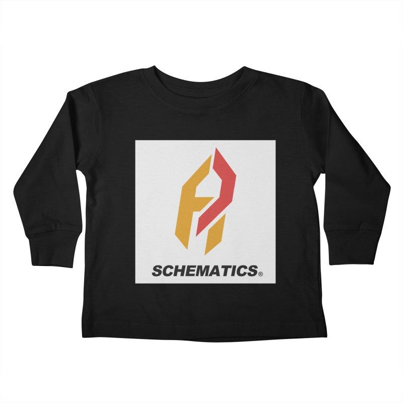 Schematicai Logo. Kids Toddler Longsleeve T-Shirt by Shadeprint's Artist Shop